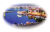 Rethymno Beach Crete Greece
