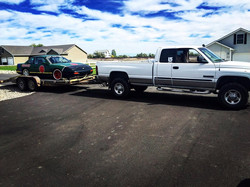 Dodge ready to tow to an event near