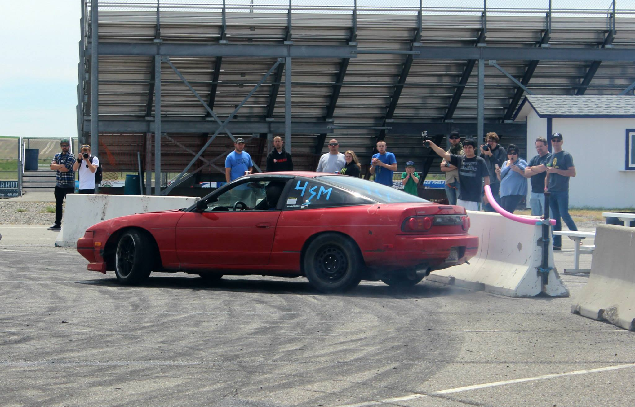 Andy in his sr20 240 smacking some n