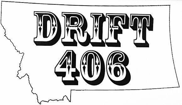 DRIFT 406 Sticker