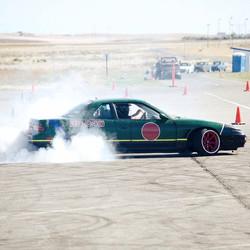Shredding tires at Sideways Saturday