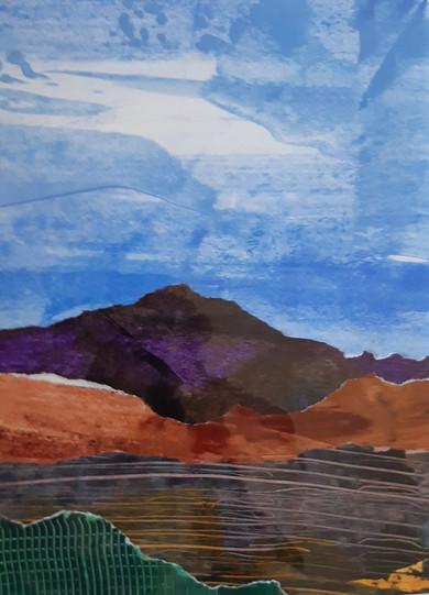 Purple Headed Mountain