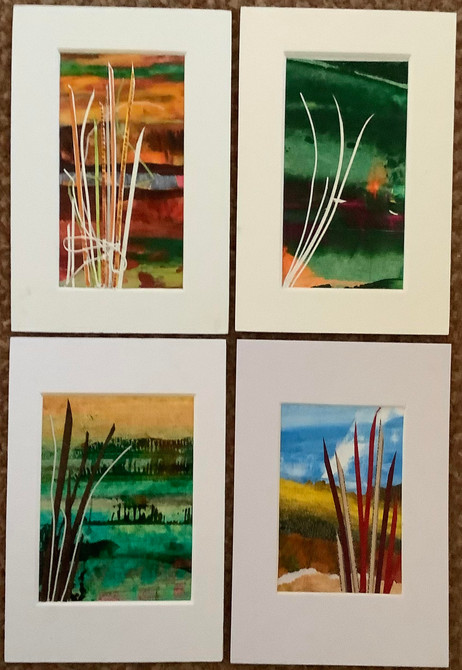 Four tiny images