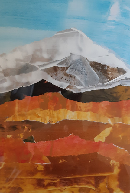 Orange Ice Mountain