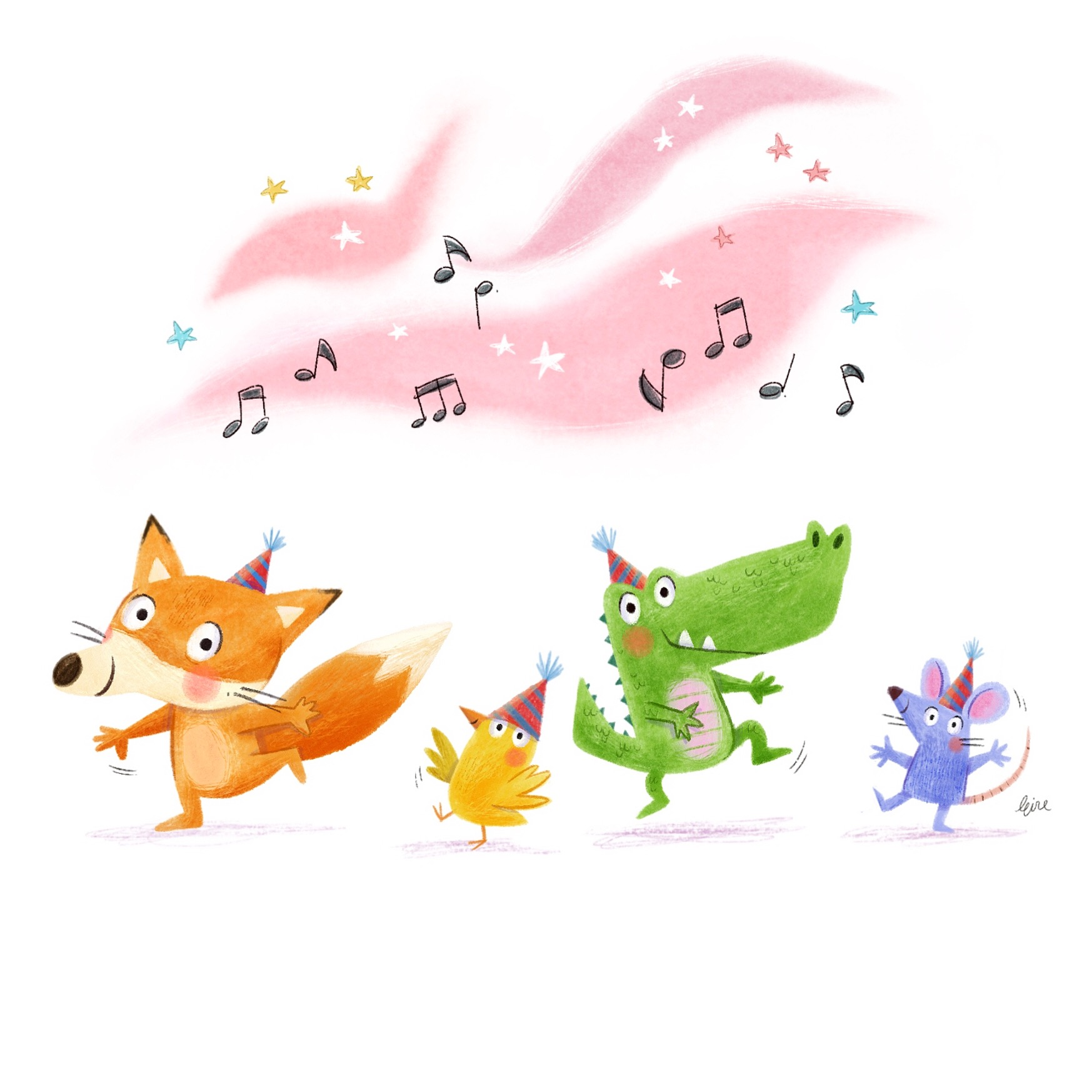 dancing animals