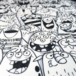 monsters sketch