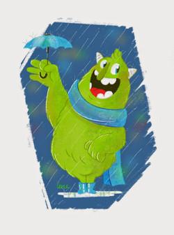smile when its rainning