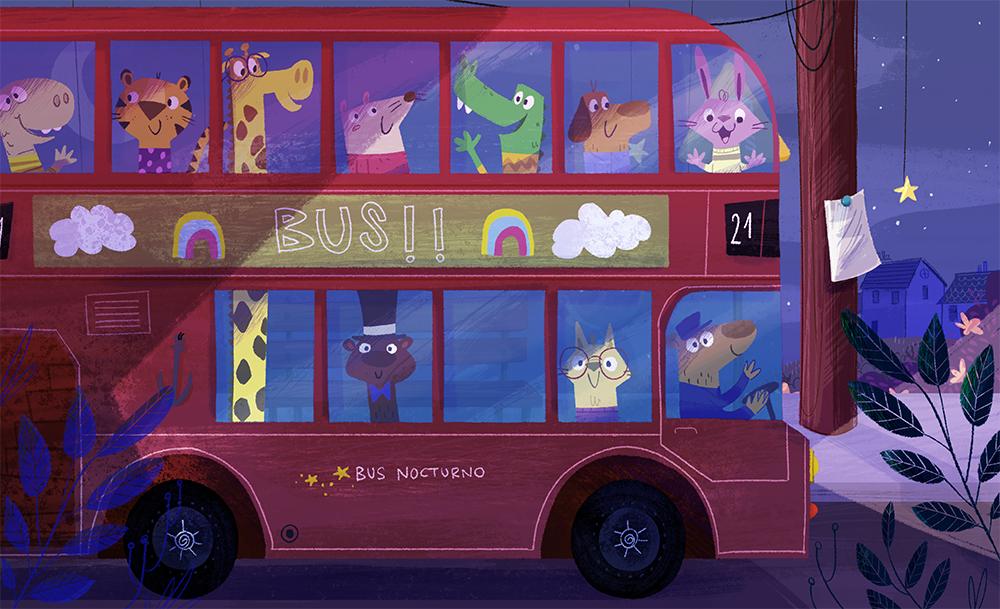 el autobus de peter