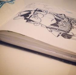 nerd sketch