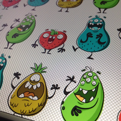 monsterfruits color