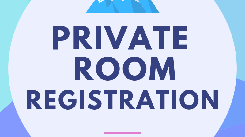 Private Room Registration