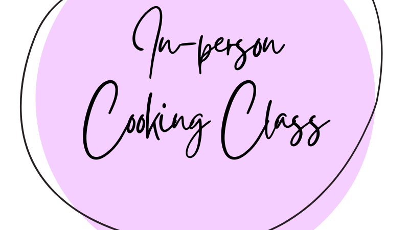 In-person Cooking Class