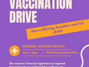 COVID-19 Vaccination Drive at FSCAA