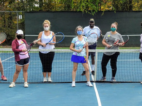 Gobble, gobble...and play tennis!