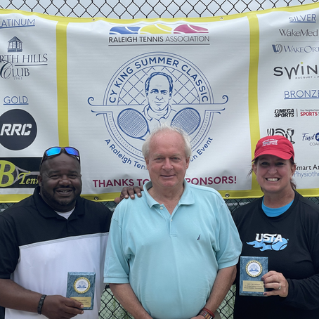Cy King Summer Classic Adult Doubles & Mixed Tournament Winners