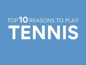 USTA's Top 10 Reasons to Play Tennis