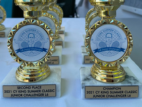 Cy King Summer Classic L6 Junior Challenger Winners