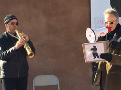 Michael Sumner and Chris Jonas at Art's Birthday