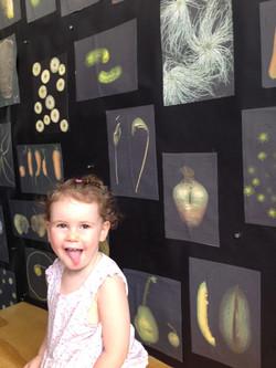 The Artist is in  Sondra Goodwin