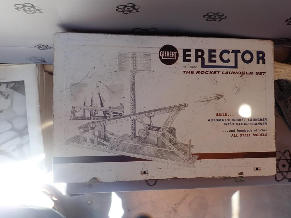 Rocket Launcher Erector Set