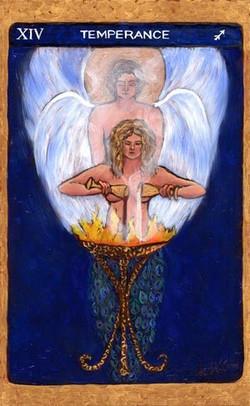 Tarot de St. Croix: temperance