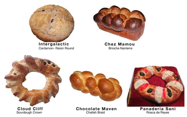 The Royal Breadshow  bread
