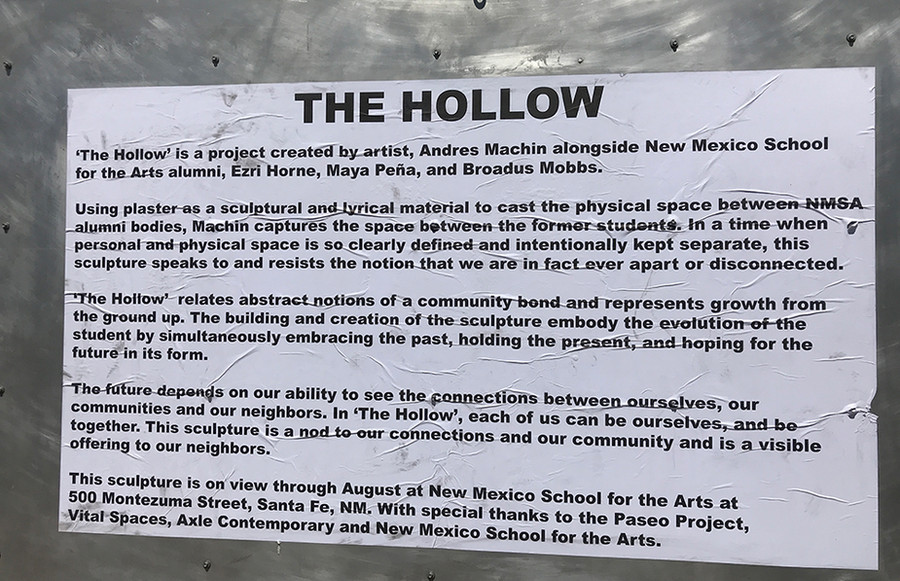 Andres Machin: The Hollow