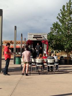 Axle Contemporary Comedy Cart