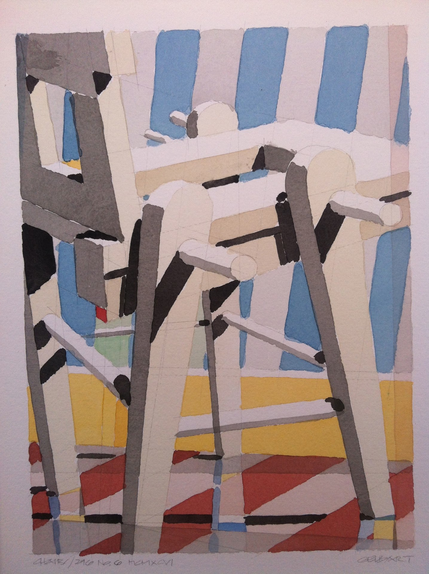 Art of the Chair, Abraham Gelbart