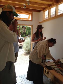 The Artist is in  Gail Rieke