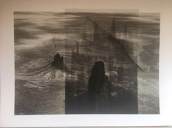 William Clift Spires at Mont St. Michel