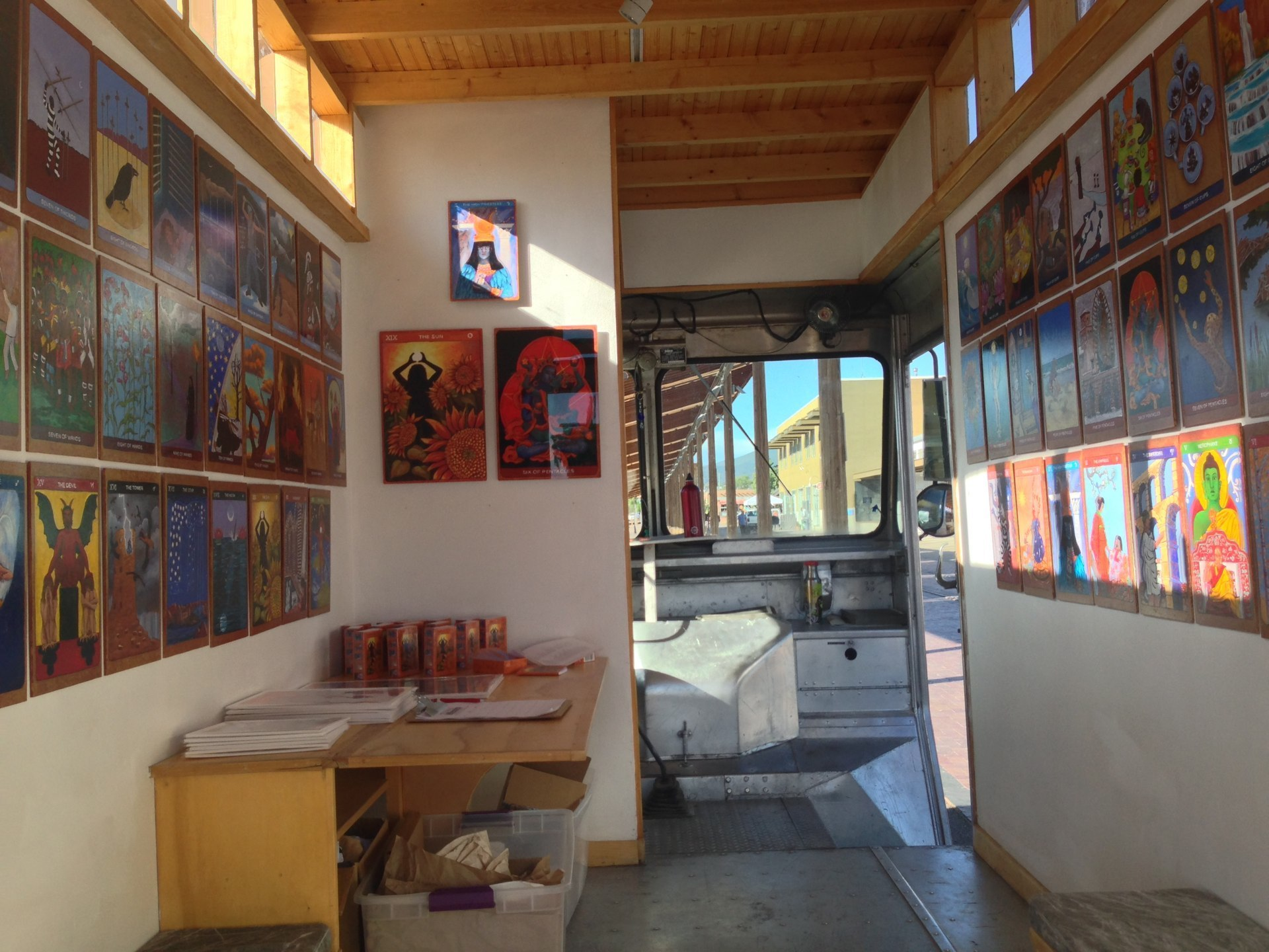 Tarot de St. Croix Axle Contemporary