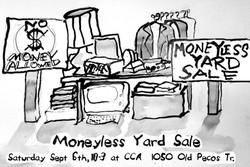 Moneyless Yardsale  Jerry Wellman