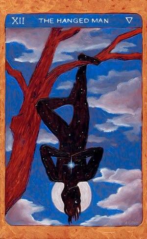 Tarot de St. Croix: the hanged man