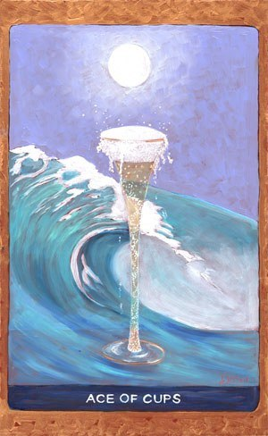 Tarot de St. Croix ace of cups