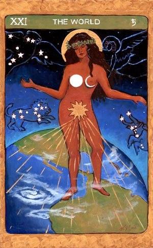 Tarot de St. Croix the world