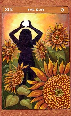 Tarot de St. Croix the sun