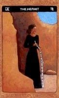Tarot de St. Croix the hermit