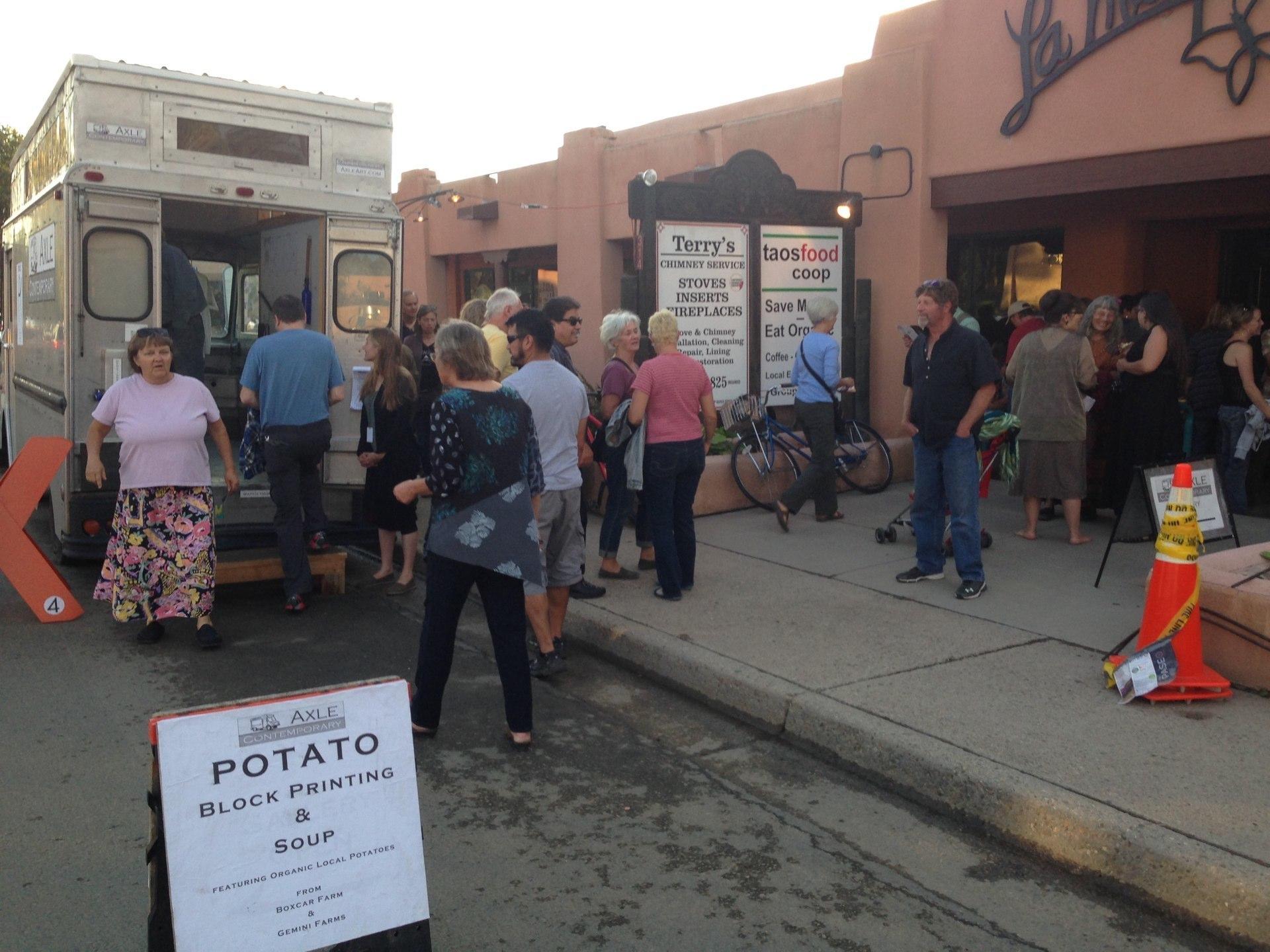 Axle Contemporary Potato Project