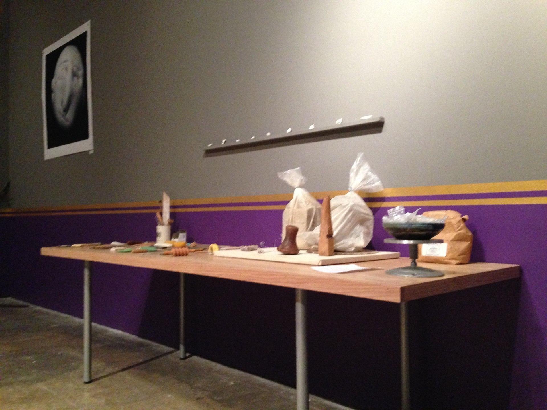 The Royal Breadshow ceramics table