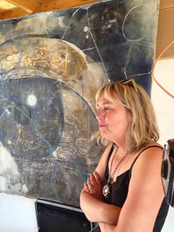 The Artist is in  Kathleen McCloud