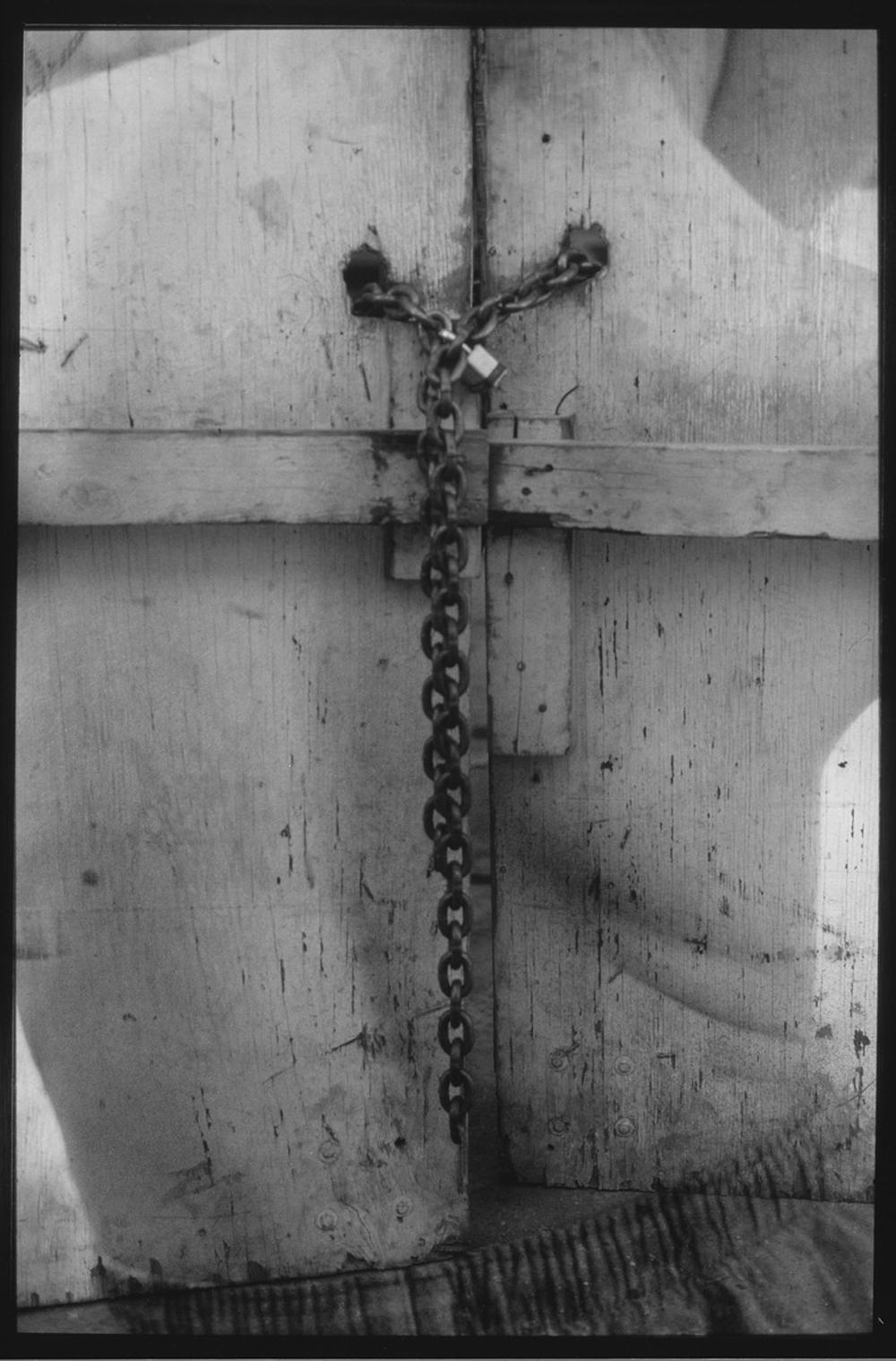 Jackie Mathey Back Door 8_x10_  Silver P