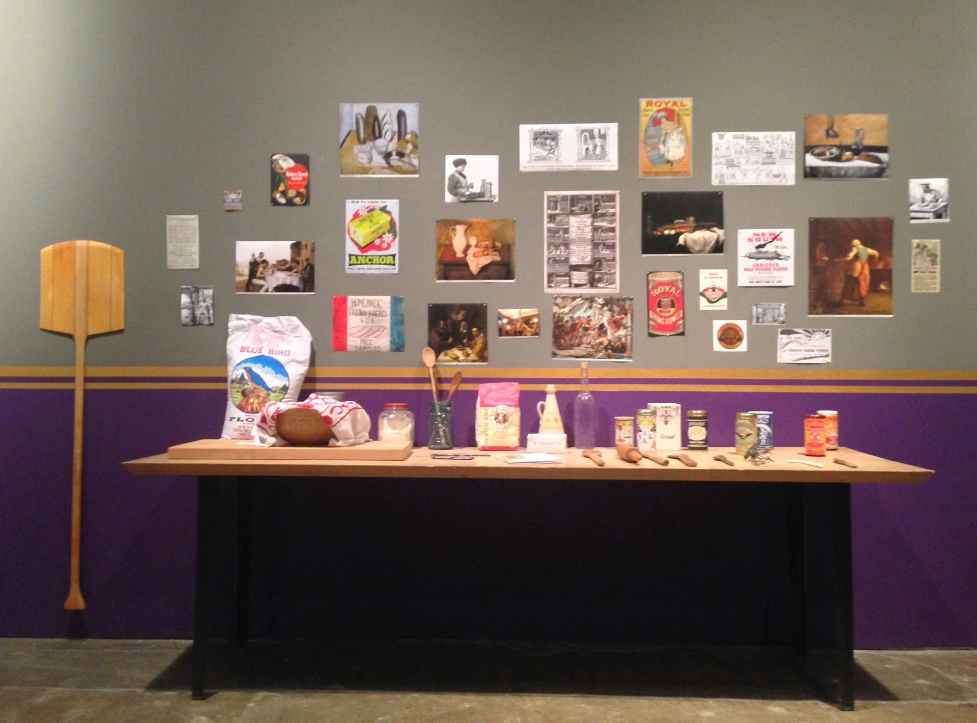 The Royal Breadshow bakers table