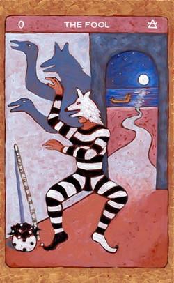 Tarot de St. Croix the fool