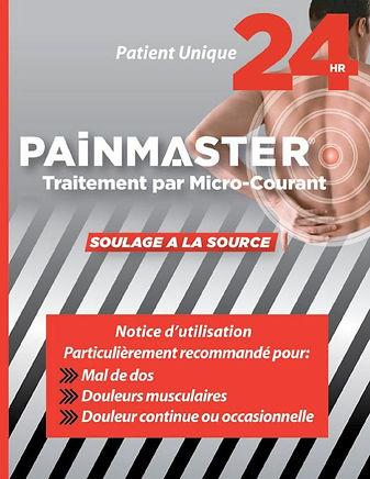 Notice d'utilisation PainMaster MCT