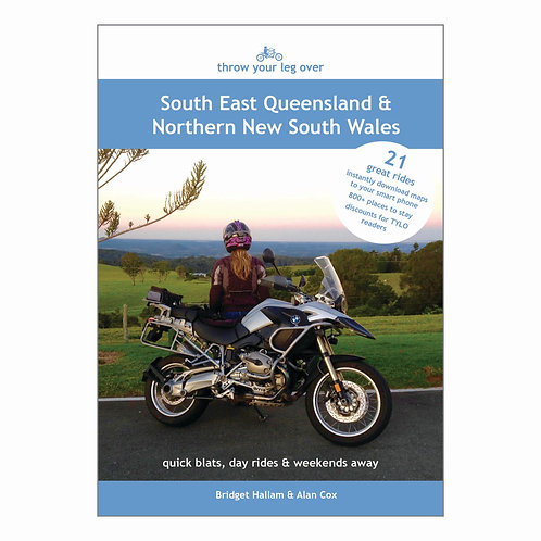 Throw Your Leg Over South East Queensland & Northern New South Wales (paperback)