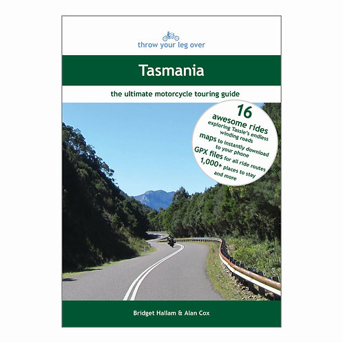 Throw Your Leg Over Tasmania (paperback)