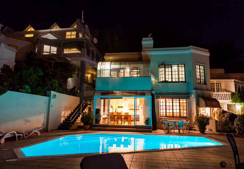 Panorama Guest House Night time