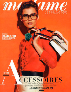 MADAME FIGARO FRANCE  - 2016 couverture.