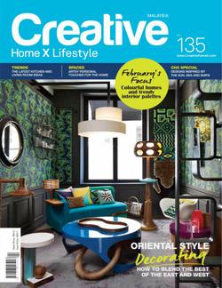 CREATIVE MALAISIE - 2015 couverture